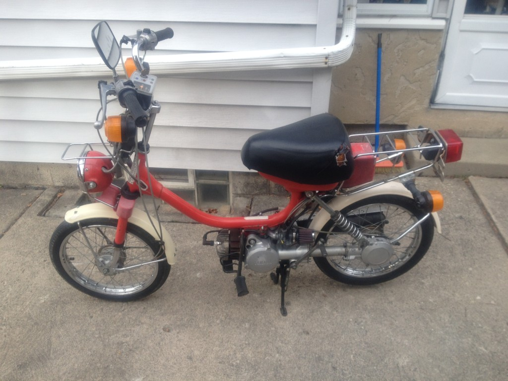 1985 QT50 build/project - Yamaha QT50 luvin and other nopeds