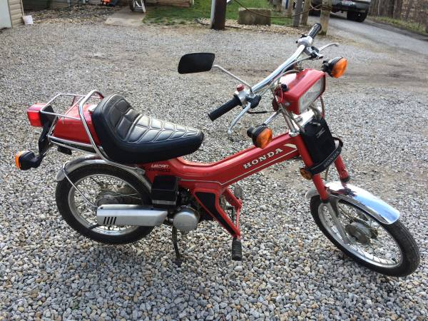 Honda Express Cl Tracker P 2 €� Yamaha Qt50 Luvin And Other Nopeds