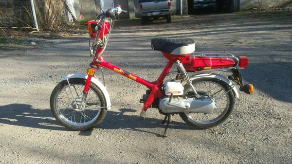 Honda Express Craiglist Tracker – Yamaha QT50 luvin and other nopeds