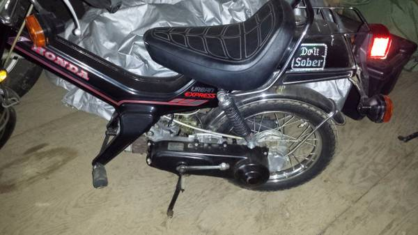 Honda Express CL Tracker p 2 – Yamaha QT50 luvin and other nopeds