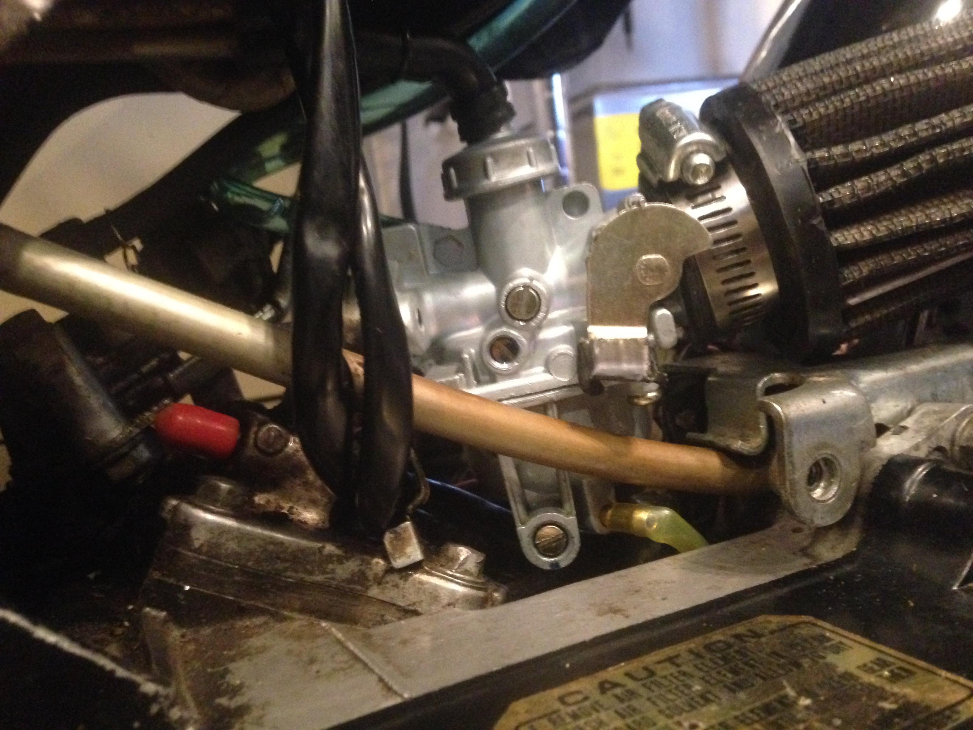 yamaha qt50 carburetor diagram