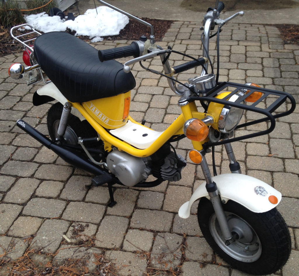 Chappy – Yamaha QT50 luvin and other nopeds on