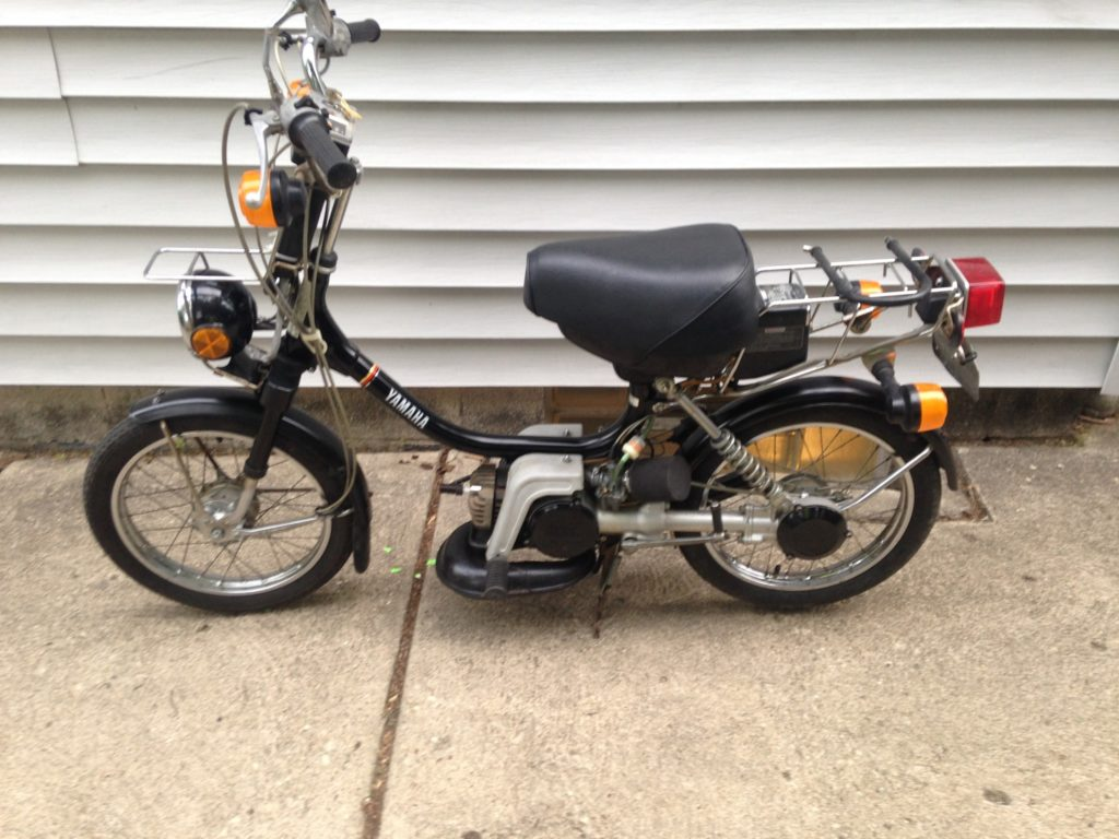 Mopeds for sale – Yamaha QT50 luvin and other nopeds